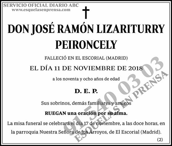 José Ramón Lizariturry Peironcely